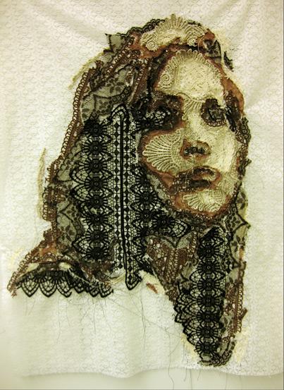 Кружевной портрет Jenna