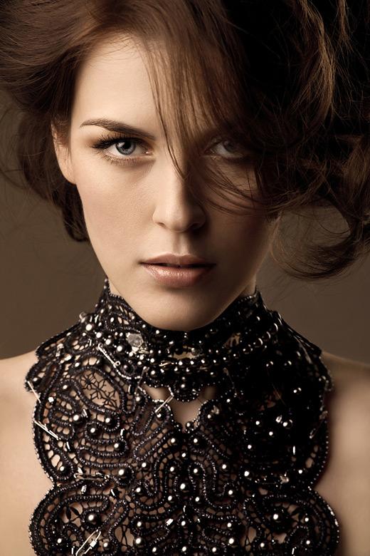 Кружевное ожерелье